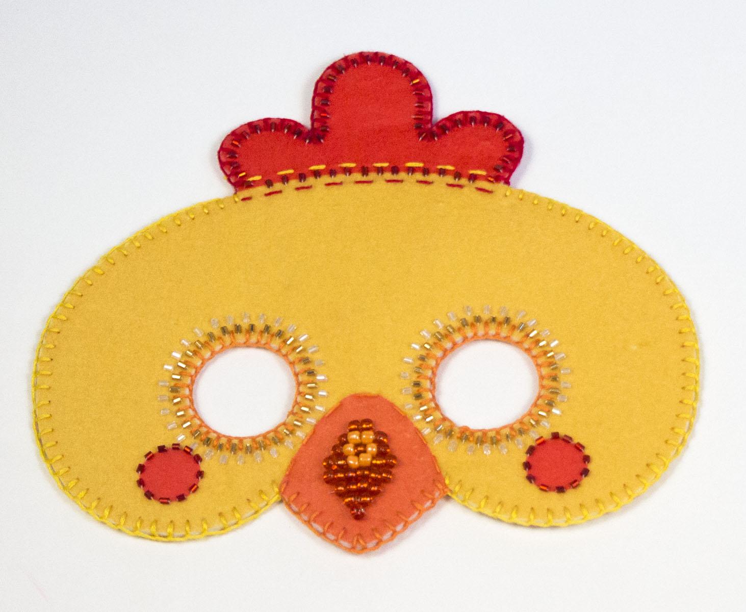 Как сделать маску ободок