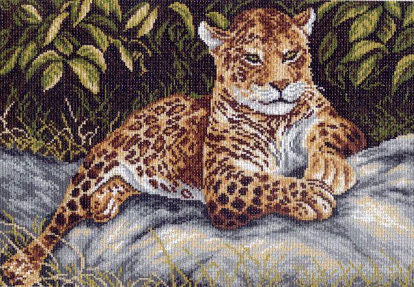 Схема для вышивки гепарды