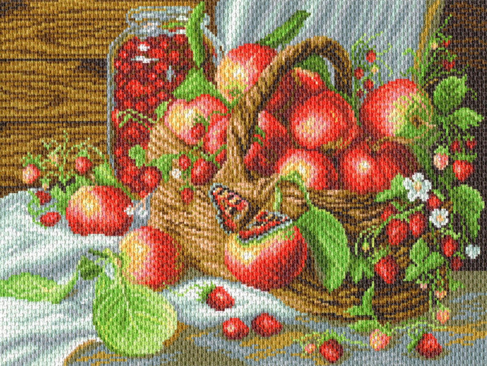 Наборы для вышивки крестом с нанесенным рисунком 68