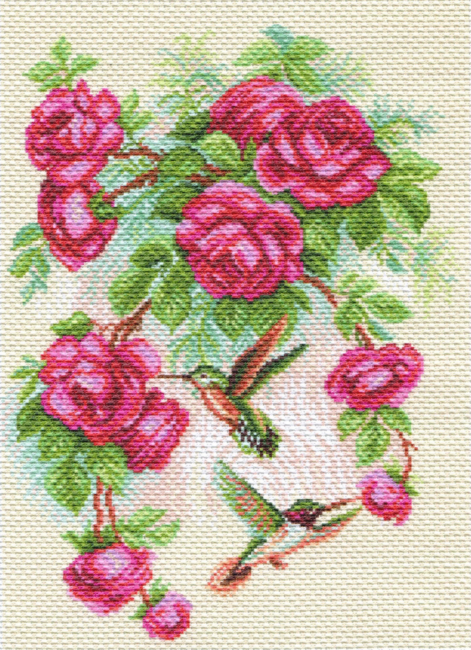 Наборы для вышивки крестом с нанесенным рисунком 69